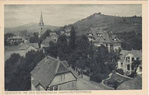 An Der Bergstrasse Darmstadterstrasse, Bensheim (Hesse), Germany, 1910-1920s