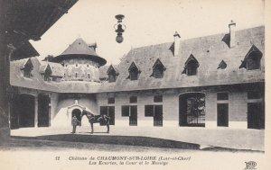 CHAUMONT, Loir-et-Cher, France, 00-10s ; Les Ecuries , la Cour et le Manege