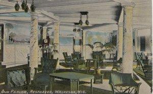 WAUKESHA , Wisconsin ,1916 ; Sunparlor , Resthaven