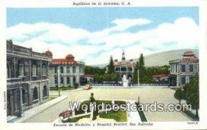 Escuela de Medicina y Hospital Rosales San Salvador El Salvador, Central Amer...
