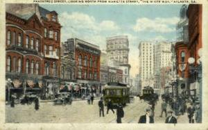 Peachtree Street Atlanta GA 1927
