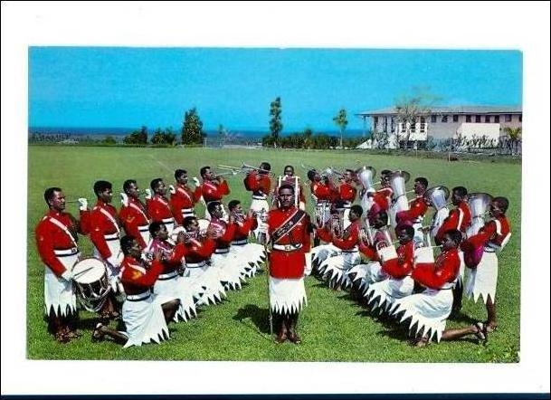Fiji Military Forces Band , Oceania , 50-60s