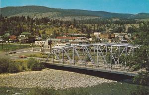 Similkameen River Bridge at Princeton, British Columbia, Canada, 40-60s