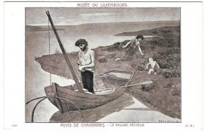 Poor Fisherman Pauvre Pecheur Puvis de Chavannes Luxembourg