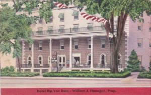 New York Saratoga Springs Hotel Rip Van Dam