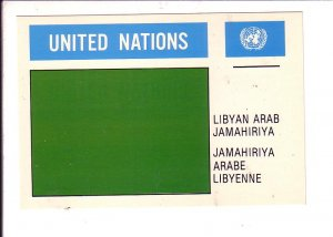 Libyan Arab Jamahiriya Flag, United Nations