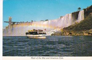 Sightseeing Boat Maid Of The Mist American Falls Niagara Falls