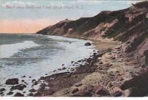 Rhode Island Block Island Beach Along Southeast Coast 1914