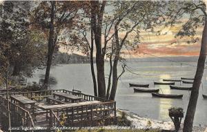 Canadarago Lake New York~Canadarago Park~near Richfield Springs-Otsego Co~c1910