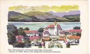 The Broadmoor Hotel Colorado Springs Colorado 1962