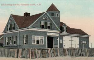 HAMPTON BEACH , New Hampshire, 1900-10s ; Life Saving Station