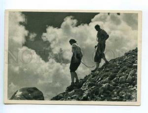 250819 GERMANY Mountaineering Vintage Ludwig Simon postcard