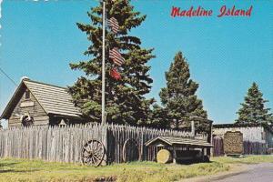 Historical Museum And Stockade On Madeline Island Largest Of The Apostle Isla...