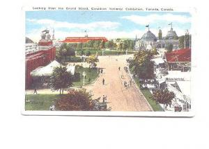 Canadian National Exposition from Grand Stand, People, Toronto Ontario