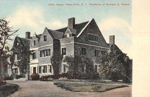 Peace Dale Rhode Island Holly House Hazard Residence Antique Postcard K12315