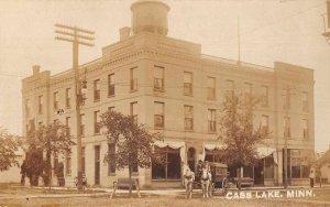 Cass Lake Minnesota Endion Hotel Real Photo Vintage Postcard JI658559