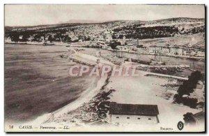 Old Postcard Cassis Panorama