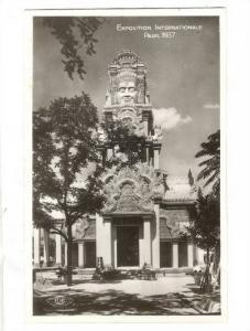 RP, Exposition Internationale Paris 1937, Indo-Chine- Tour Centrale, Arch, Pa...