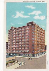 Montana Billings Northern Hotel 1951