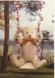 Handmade Timothy Teddy Bear by Linda Speigel of Bearly There Company