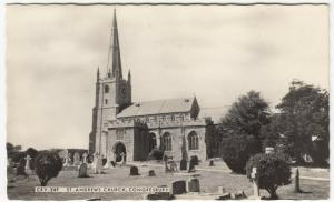 Somerset; St Andrew's Church, Congresbury CRY 24F RP PPC By Frith