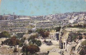 Aerial View of  Bethlehem, Palestine , 00-10s