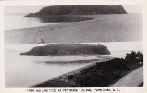Canada Parrsboro High and Low Tide At Partridge Island Photo