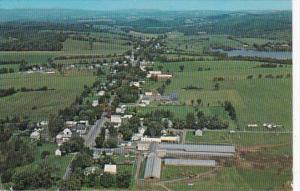 Vermont Derby Aerial View Of Derby Village