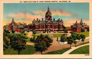 Maryland Baltimore Johns Hopkins Hospital 1947