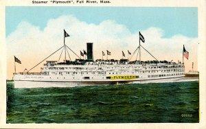 MA - Fall River. Steamer Plymouth, Fall River Line