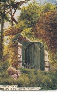 AS: Summer House where Enoch Arden was written, Sheep, TUCK #7101, PU-1905