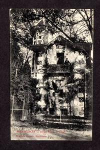 Jardin Public Chalet MONTELIMAR FRANCE Carte Postale