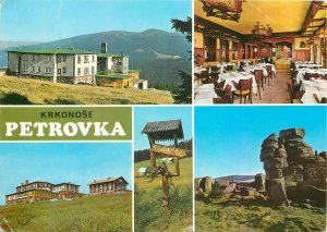 Czech Republic Krkonose souvenir multiview Postcard