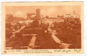RABAT , Morocco , garden of casbah of the Oudayas, 20-40s