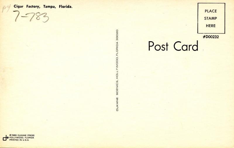 Tobacciana - Cigar Factory in Tampa, Florida