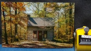 STD Vintage Log Cabin Brown County Indiana Unposted