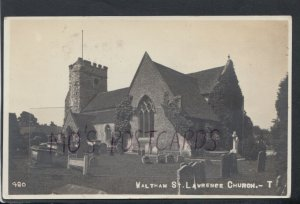 Berkshire Postcard - Waltham St Lawrence Church    RS16230