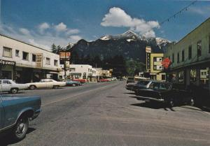 Scenic View of Junction of Fraser Canyon and Hope Princeton Highways, Hope, B...