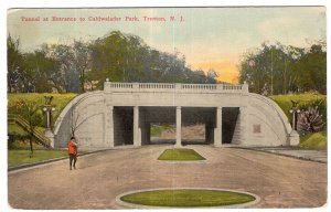 Trenton, N.J., Tunnel at Entrance to Caldwalader Park