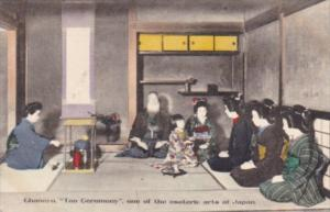 Japan Tokyo Ghanoyu Tea Ceremony One Of The Esoteric Arts Of Japan