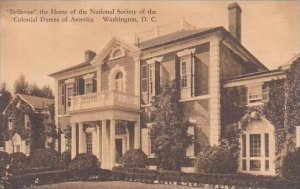 Washington DC Bellevue The Home Of The NAtional Society Of the Coloial Dames ...