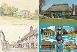 Alfriston Clergy House 4x Postcard s