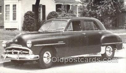 1951 Plymouth Cambridge 4 Door Sedan Automotive, Auto, Car Unused