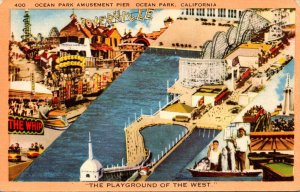 California Ocean Park Amusement Pier