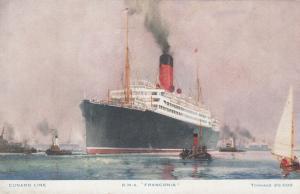 Oceanliner/Ship/Steamer, Cunard Line, R. M. S. Franconia, 1900-10s