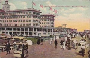 New Jersey Atiantic City Hotel Rudoiph And Boardwalk