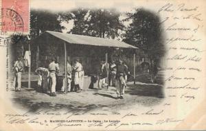 Military - Maisons Laffitte Le Camp Le Lavabo 02.84