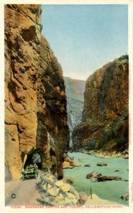WY - Yellowstone National Park. Shoshone Canyon & Tunnel    (Haynes)