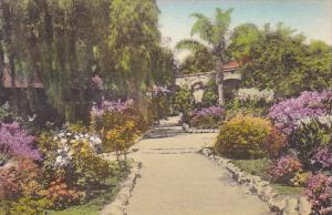 Front Mission Garden Entrance To Inner Patio Old Mission San Juan Capistrano ...