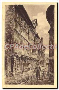 Postcard Old Honfleur Musee Du Vieux Honfleur La Vieille Maison